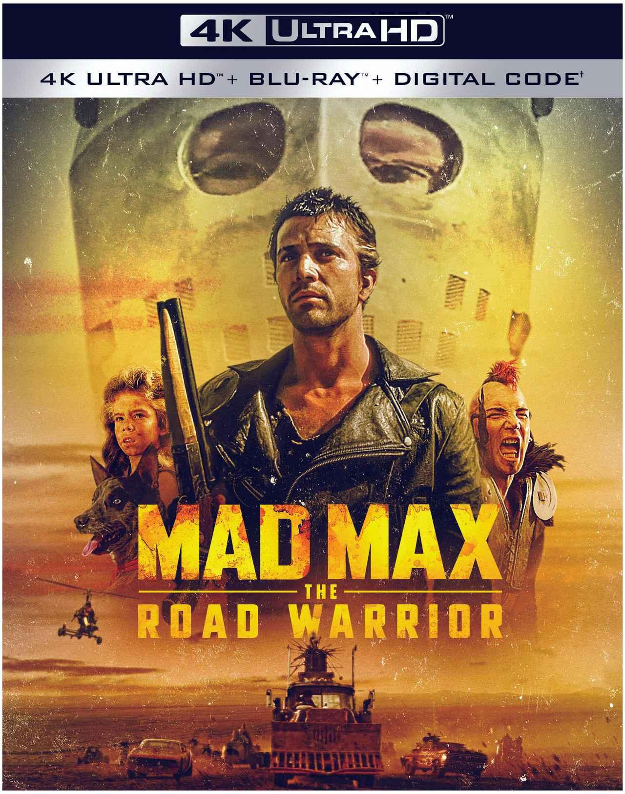 画像2: 【 UPDATE】4Kマッドマックス『マッドマックス2』『マッドマックス/サンダードーム』【海外盤Blu-ray発売情報】