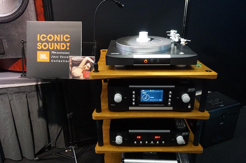 画像: JBL創立57周年記念アナログレコード「ICONIC SOUND!-The JBL 75th Anniversary Jazz Vocal Collection」のデモ