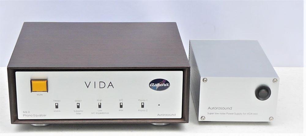 画像1: オーロラサウンド、世界中で人気を博したフォノイコライザーアンプを改良・進化させた「VIDA Mk II」を10月10日に発売