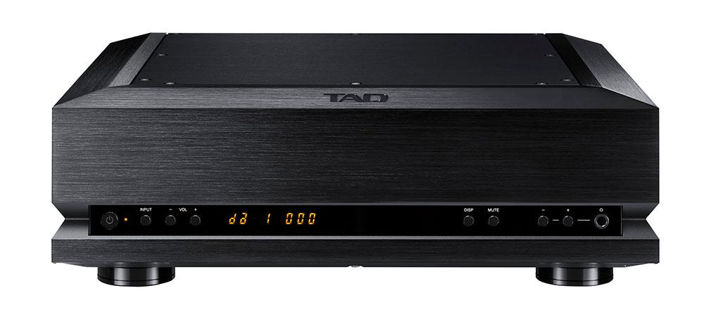 画像: 受注生産でブラック仕上げも準備されている。上はD/AコンバーターのTAD-DA1000TX