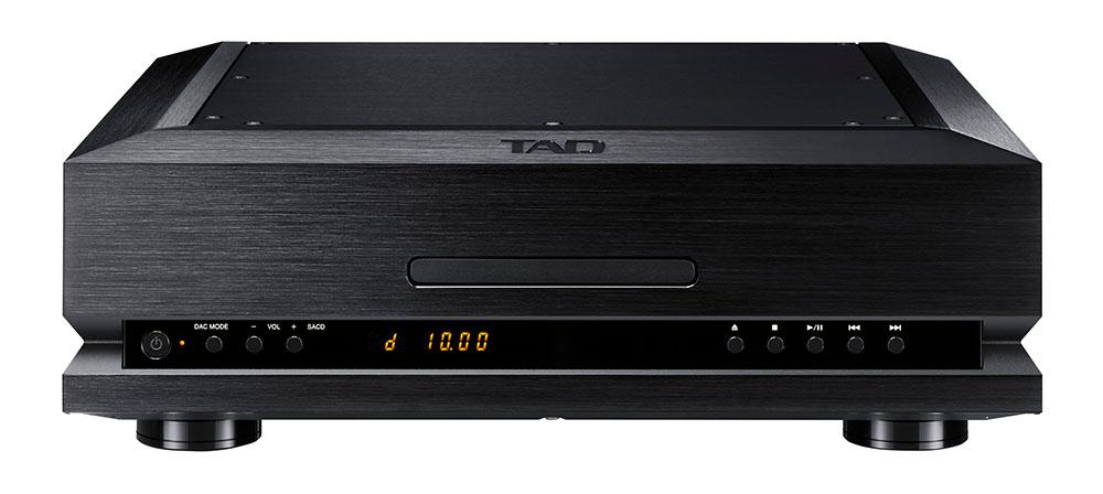 画像: SACD/CDプレーヤー「TAD-D1000TX」のブラックモデル