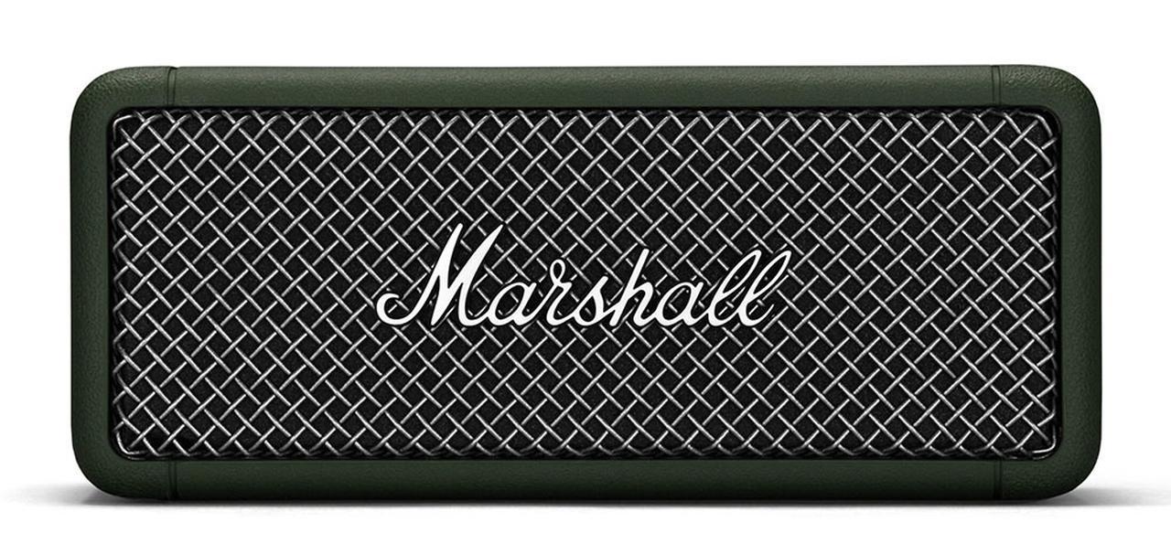 画像1: イギリス、MarshallのBluetoothスピーカー「Emberton」に、新色Forestが追加。どこにいても心地よく聞いていられる360度サウンドを提供