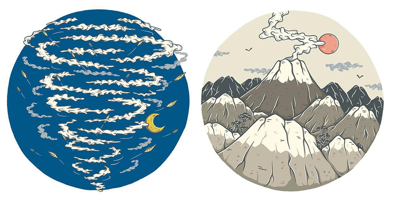 画像: 左が「ATH-GDL3」、右が「ATH-GL3」のパッケージデザイン