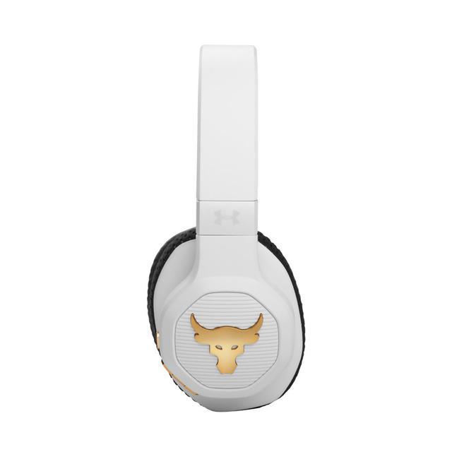画像: JBL、UNDER ARMOURとコラボしたワイヤレスヘッドホン「UA PROJECT ROCK OVER-EAR」に新色「ホワイト」を追加