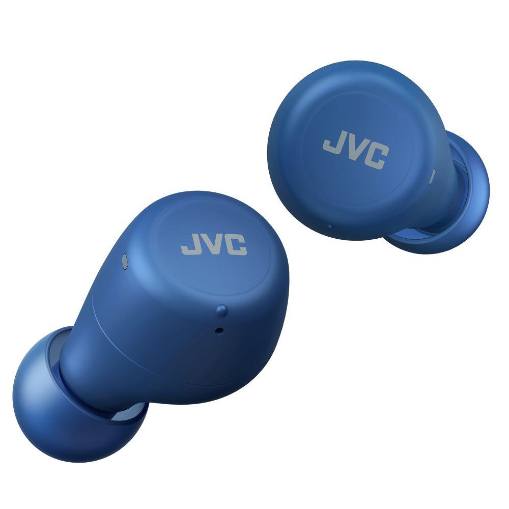 画像1: 小型・軽量・おしゃれな完全ワイヤレスイヤホン「HA-A5T」が、JVCより登場。グリーン、ブルー、ホワイトなどカラフルな5色展開