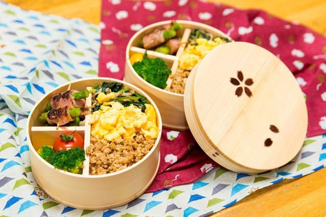 画像: 彩り豊か、栄養満点! お母さんの三色弁当を完全再現