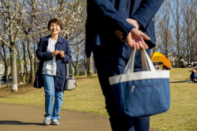 画像1: 待ち合わせ場所は、桜が満開の公園