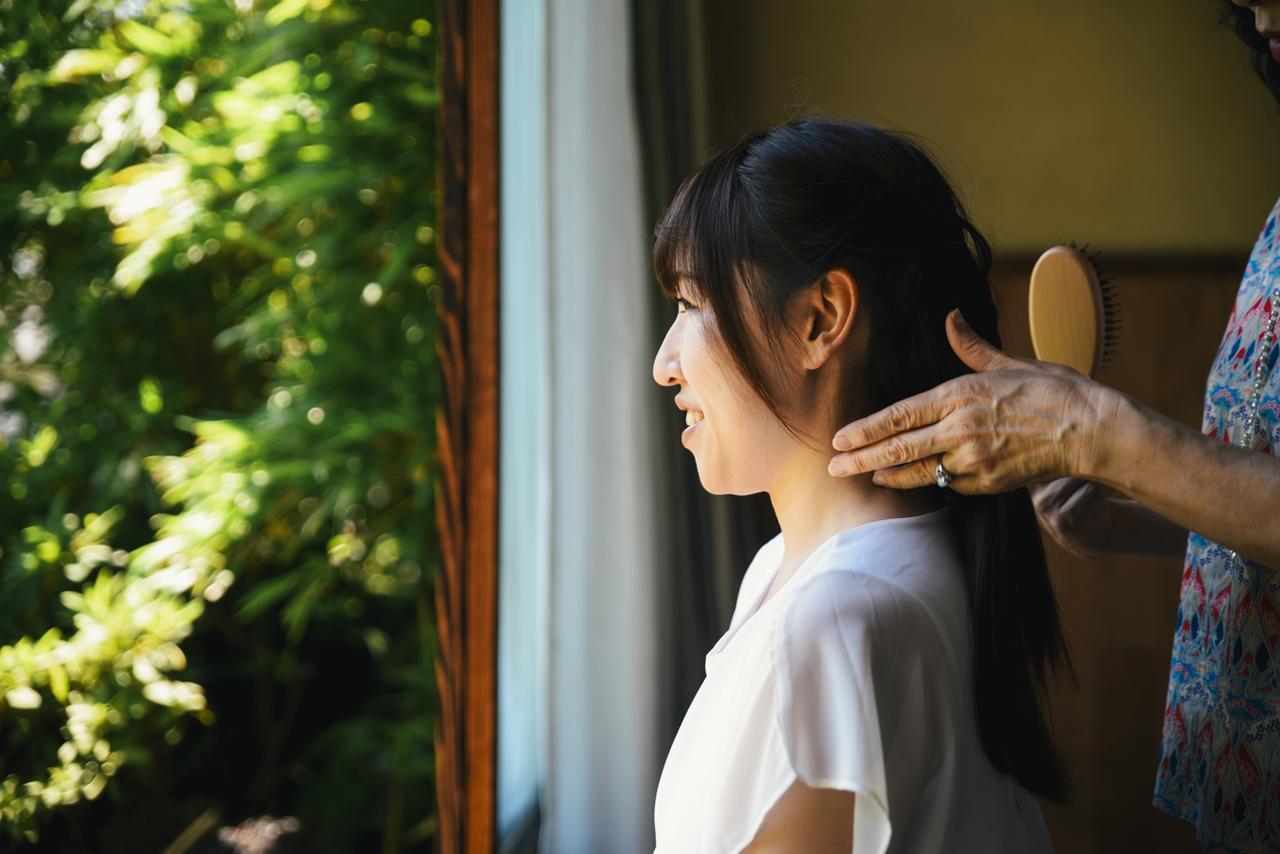 画像4: 髪を結いながら思い出す、思春期の娘へ毎日贈った母からの手紙