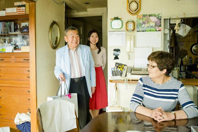 画像1: お義父さんとお嫁さんのアイディアを掛け合わせたギフトをプレゼント