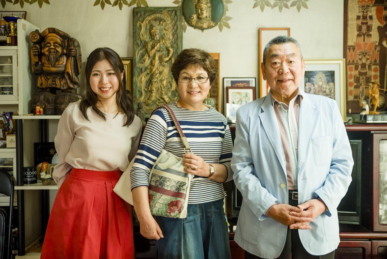 画像: お義父さんとお嫁さんの2人だからこそ贈れたお義母さんへのギフト