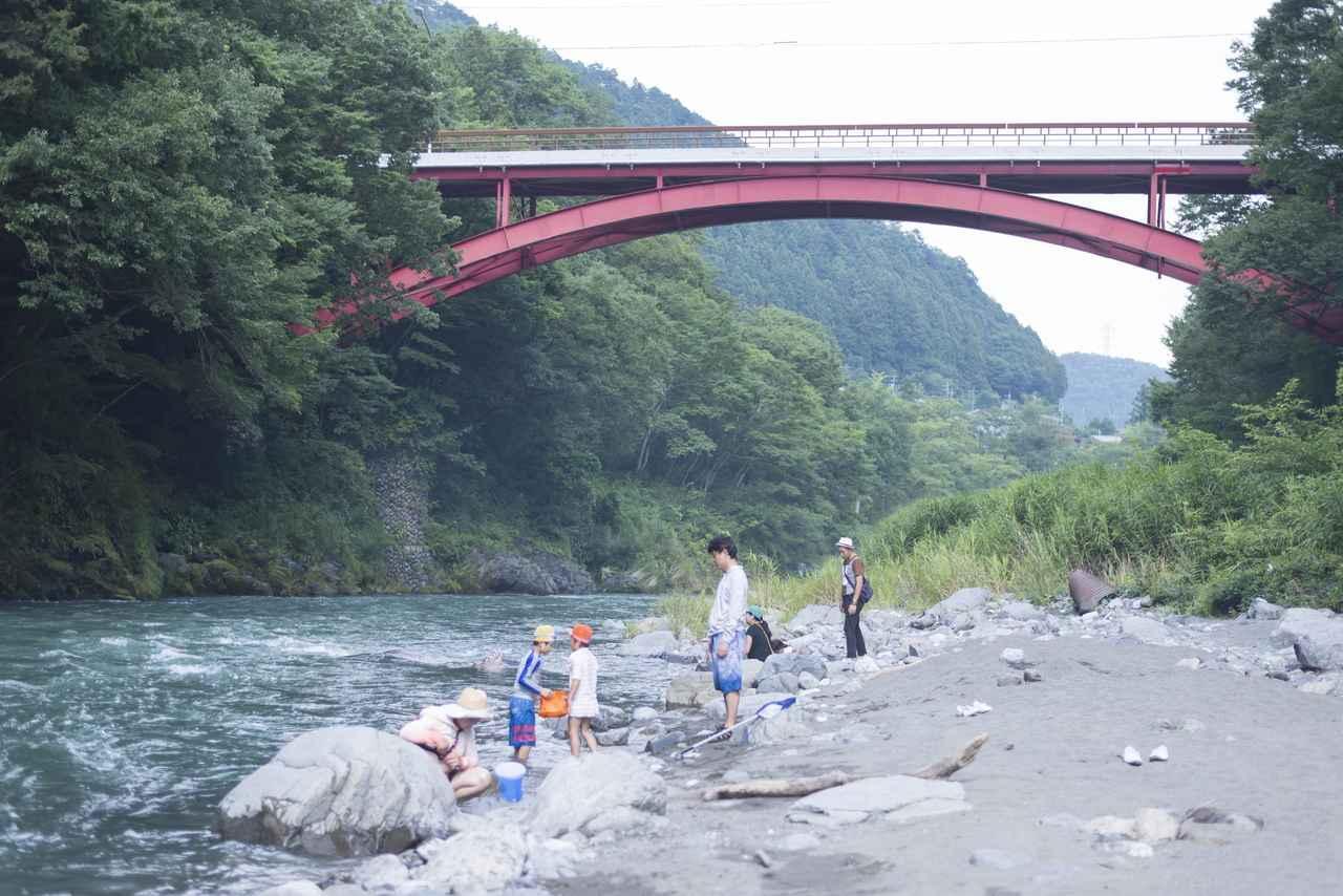 画像2: 近くには、より涼を感じる多摩川の清流が!