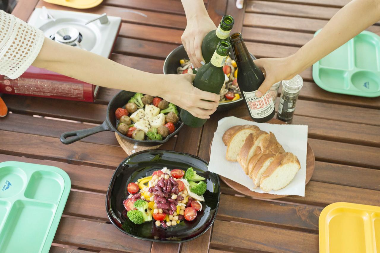 画像6: BBQのいいとこどり!野菜も肉ももりもり食べられるランチコースを楽しむ