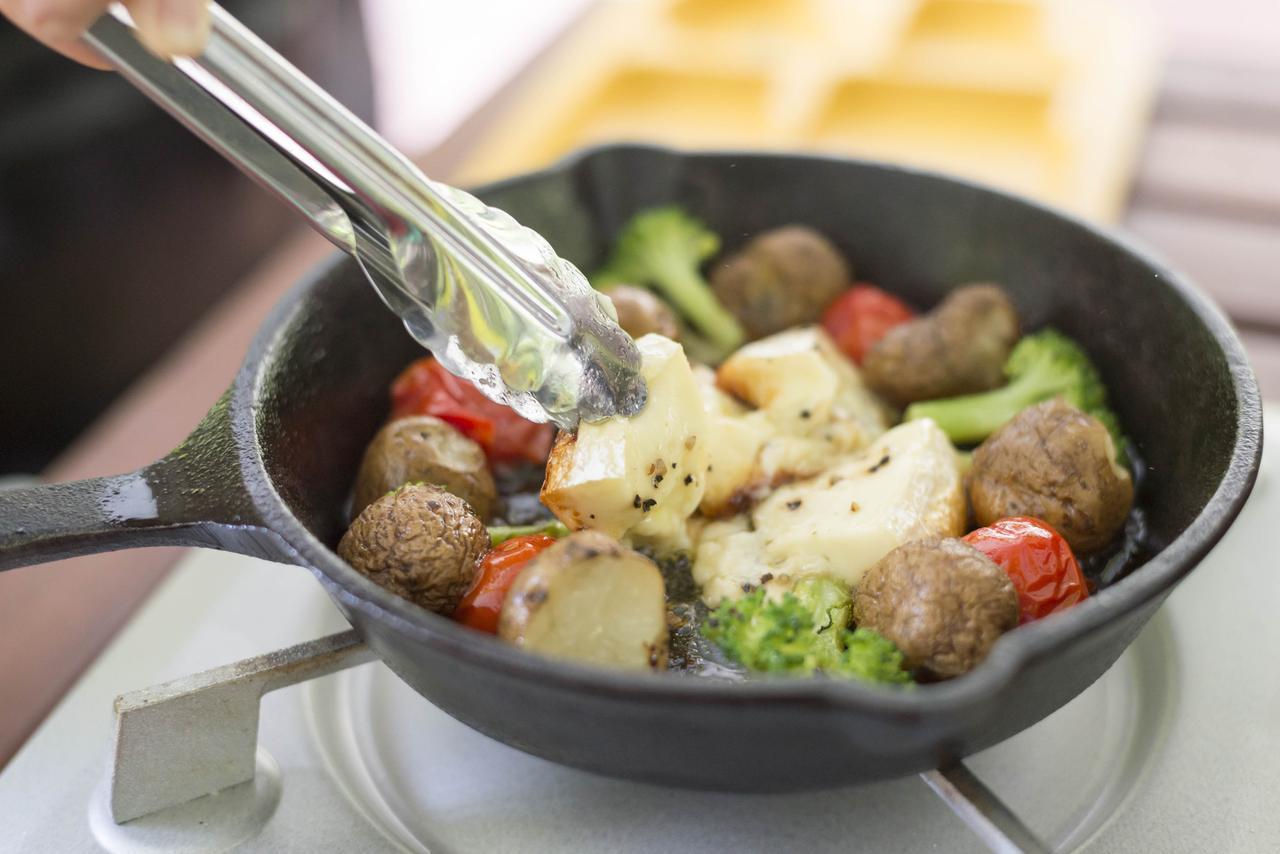 画像3: BBQのいいとこどり!野菜も肉ももりもり食べられるランチコースを楽しむ