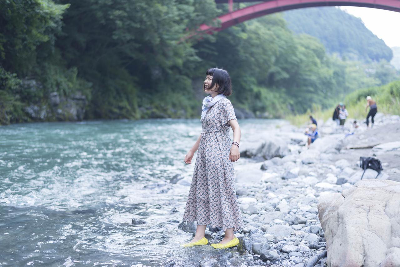画像3: 近くには、より涼を感じる多摩川の清流が!