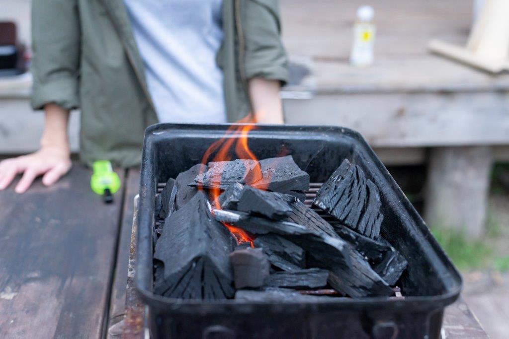 画像3: 火起こししなきゃ、はじまらない!