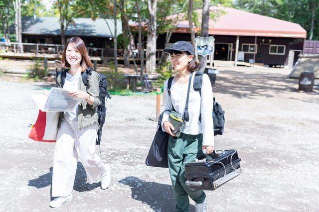 画像5: 軽井沢で1泊2日の常設テント泊!