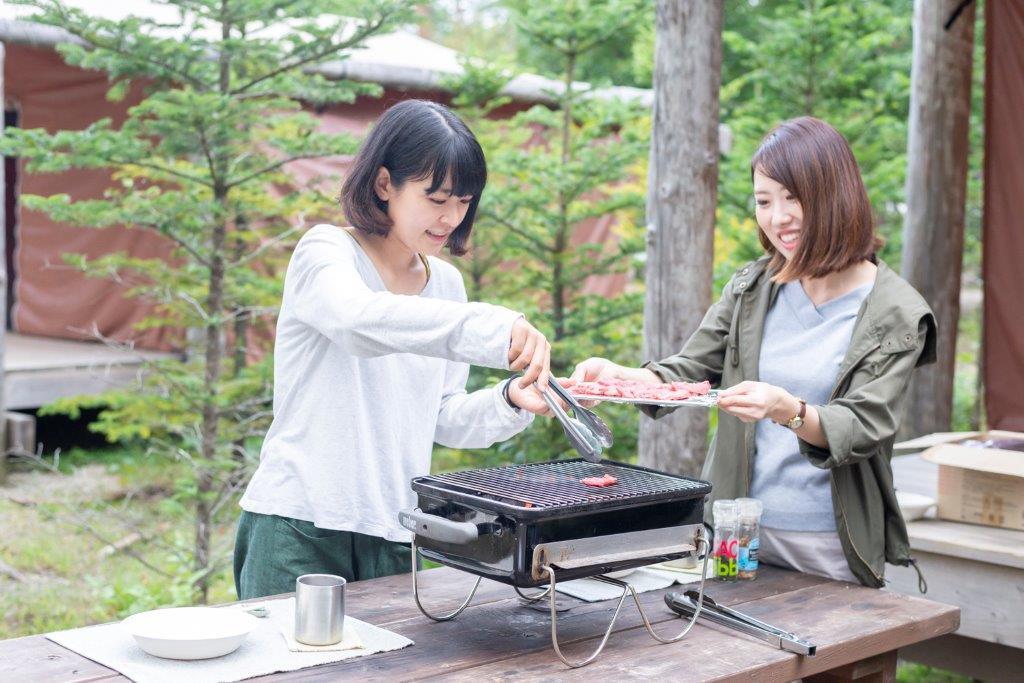 画像3: やっぱり炭火焼きはおいしい!