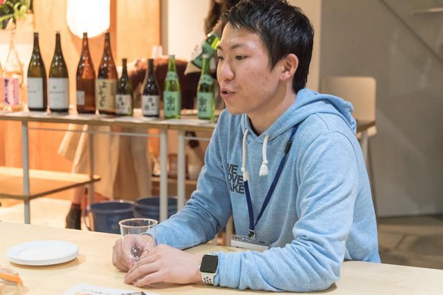 画像: saketaku公式日本酒鑑定士、志村さん