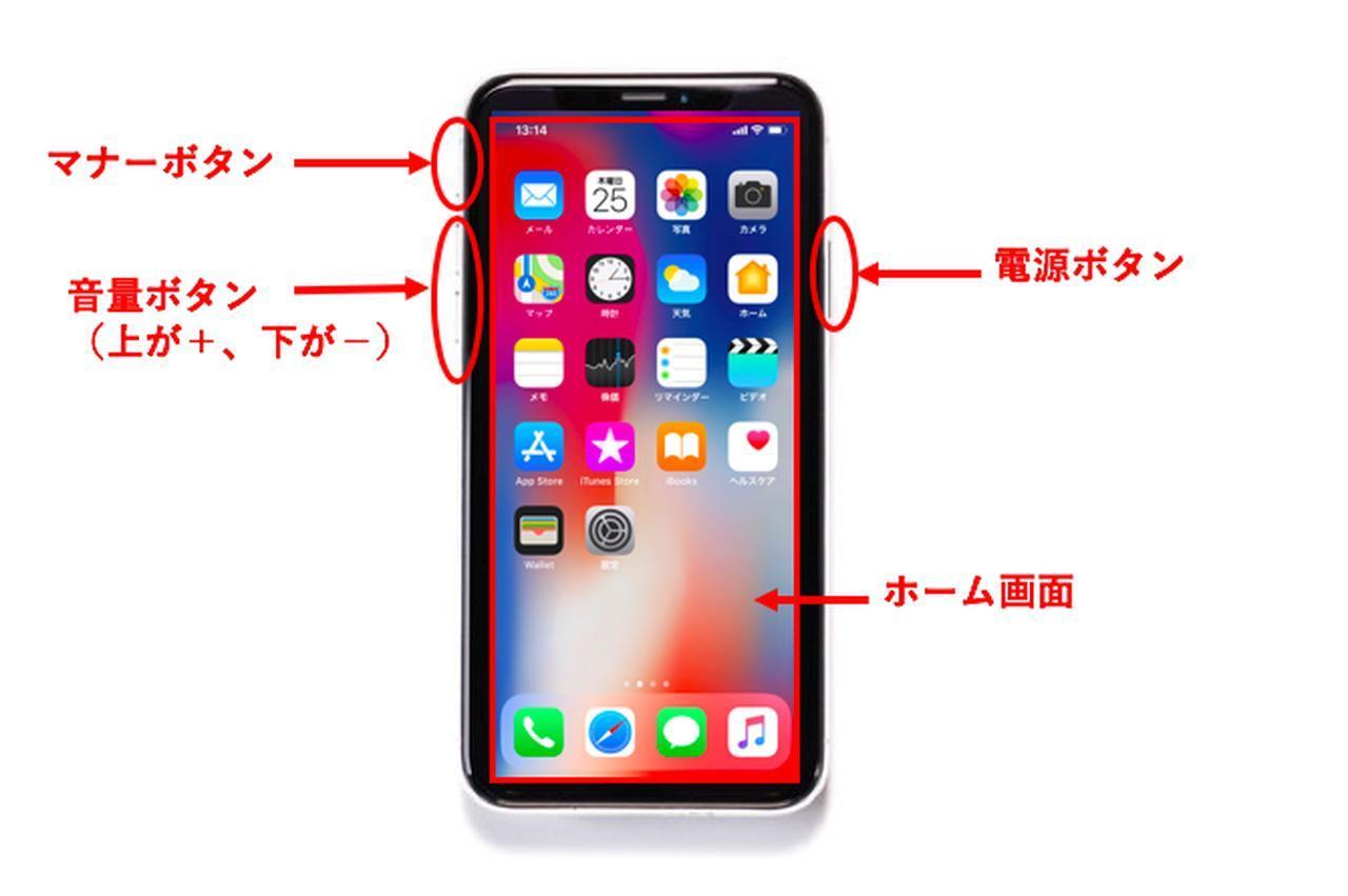 画像: 〈iPhone X、iPhone XS、iPhone XR〉