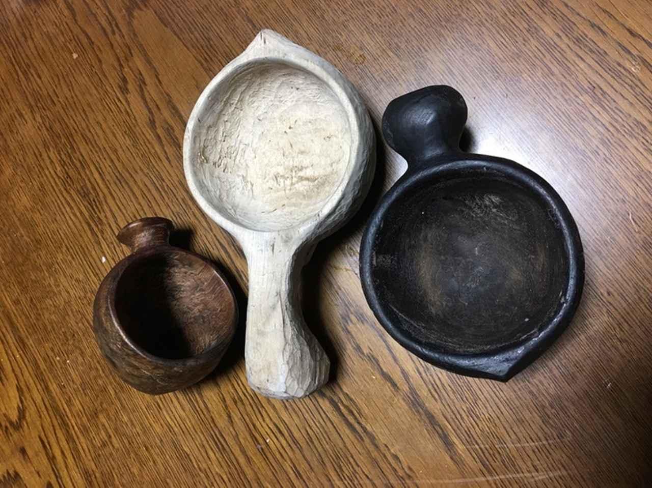 画像: 木をくり抜いて作るフィンランドのマグカップ「ククサ」は、なんとお父さんの手作り!
