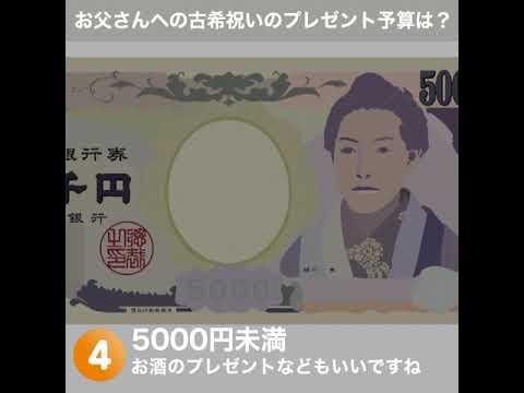 画像: 古希祝いのプレゼント予算は? youtu.be
