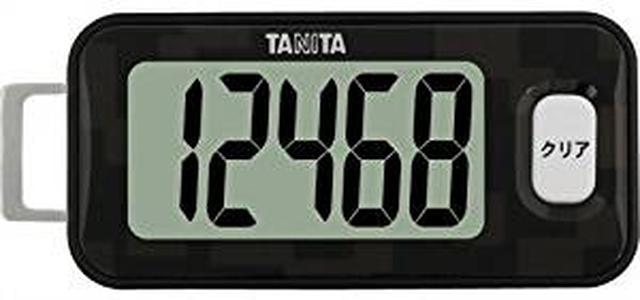 画像: タニタ(TANITA) 3Dセンサー搭載歩数計 黒 FB-731-BK | タニタ(TANITA) | 歩数計