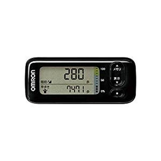 画像: オムロン 活動量計 (ブラック)OMRON カロリスキャン HJA-405T-BK | オムロン(OMRON) | 活動量計