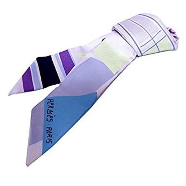 画像: HERMES トゥイリー スカーフ PARME/BLEU/JAU シルク [並行輸入品] | スカーフ 通販