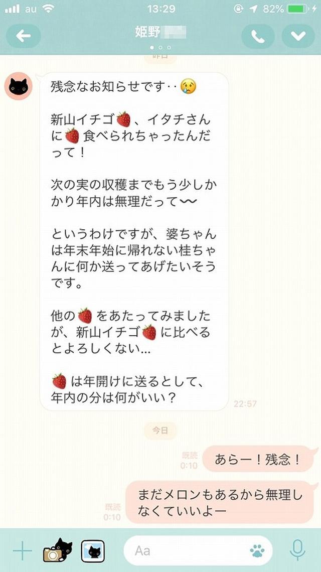 画像7: お母さんに「ありがとう」とLINEしてみた。姫野桂
