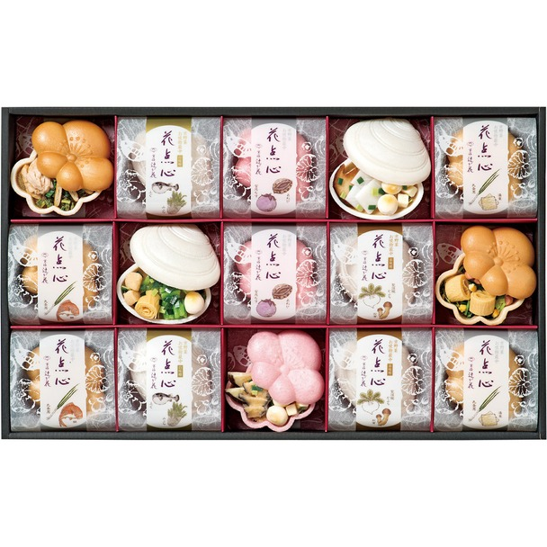 画像: 京野菜のお吸い物最中詰合せ 大丸松坂屋オンラインショッピング