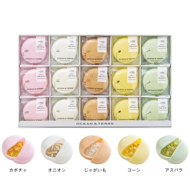 画像: 北海道野菜スープMONAKAセット 大丸松坂屋オンラインショッピング