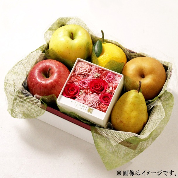 画像: 季節のフルーツとお花のギフト 大丸松坂屋オンラインショッピング