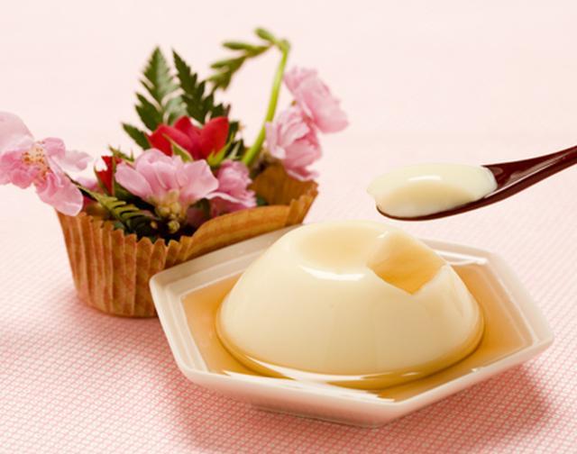 画像: ミニバラと豆乳プリンセット(八重桜蜂蜜味) | ところてん 濱長本店株式会社 【老舗モール】