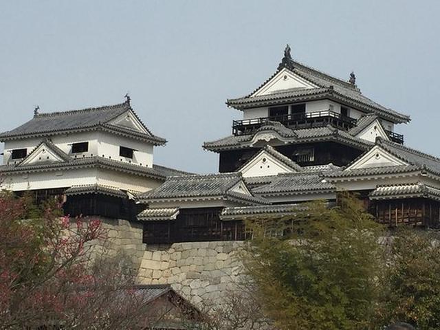 画像: 松山城