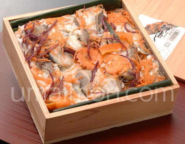 画像: 三浦米太郎商店『ハタハタ切り寿し』約500g ※冷蔵