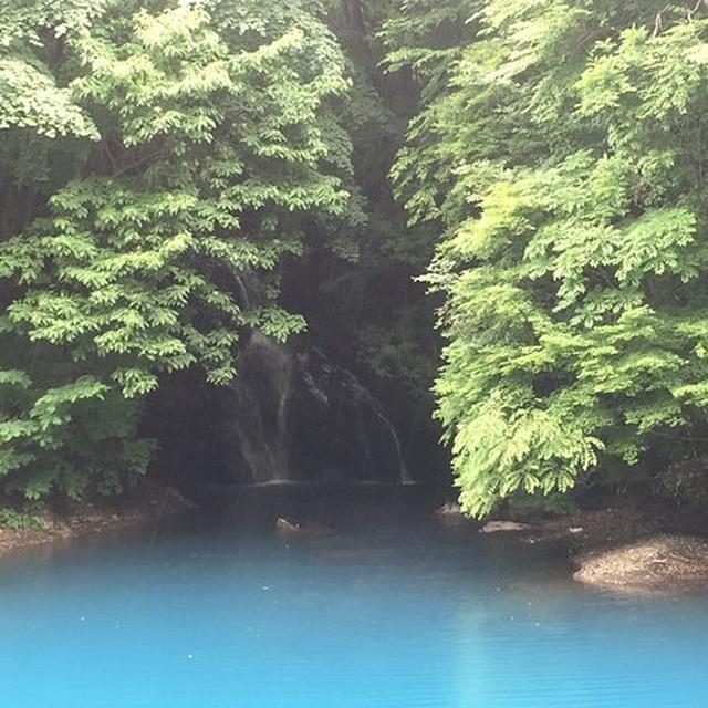 画像: 桃太郎の滝