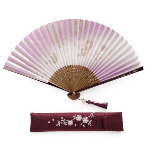 画像: 【白竹堂】美桜香扇子セット