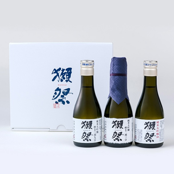 画像: 獺祭 お試し3本セット(180ml×3) 大丸松坂屋オンラインショッピング
