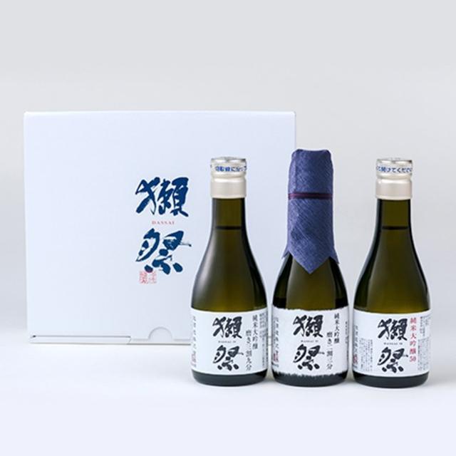画像: 獺祭 お試し3本セット(180ml×3)|大丸松坂屋オンラインショッピング