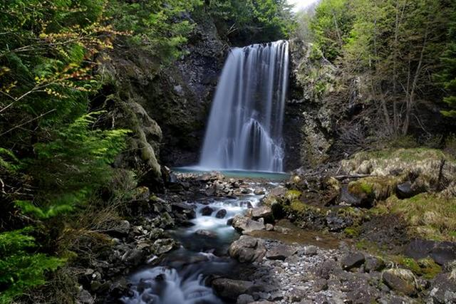 画像: 善五郎の滝