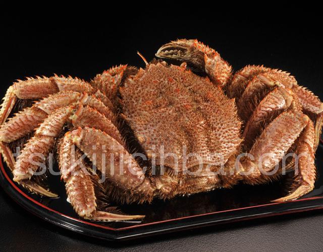 画像: 特大『茹で毛蟹』 北海道産 1杯 約1kg ※冷凍