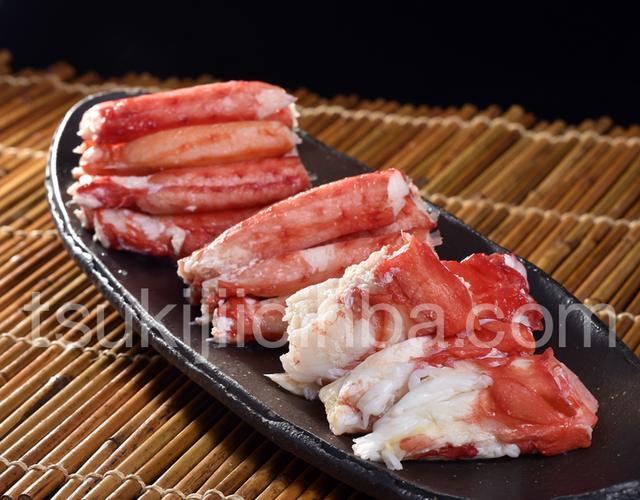 画像: 『イバラガニ調理用セット』 北海道網走産 計300g 脚肉100g(6〜10本)2袋、肩肉100g(4〜7個)1袋 ※冷凍