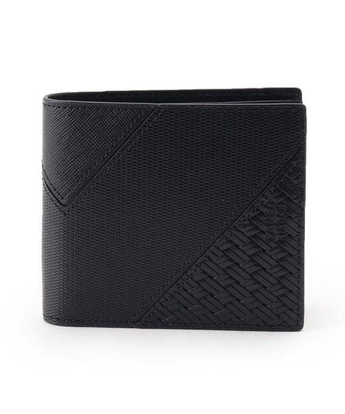 画像: パッチワーク二つ折り 財布 TAKEO KIKUCHI