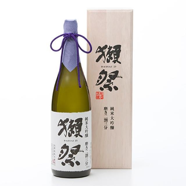 画像: 獺祭 純米大吟醸 磨き二割三分 木箱入 1800ml 大丸松坂屋オンラインショッピング