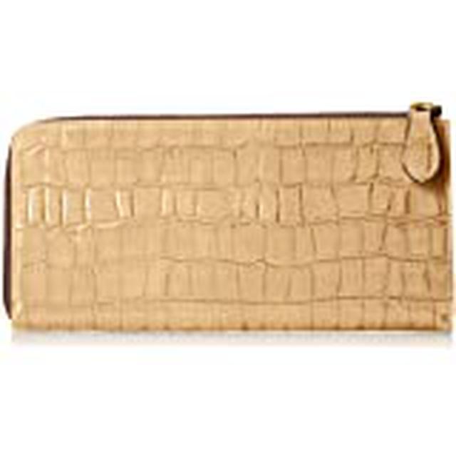 画像: トプカピ エナメルクロコ型押し Lファスナーマチ付き長財布