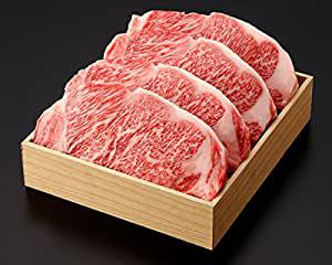 画像: 《三重県産》松阪牛サーロインステーキ 贈答用箱詰め (720g(180g×4枚))