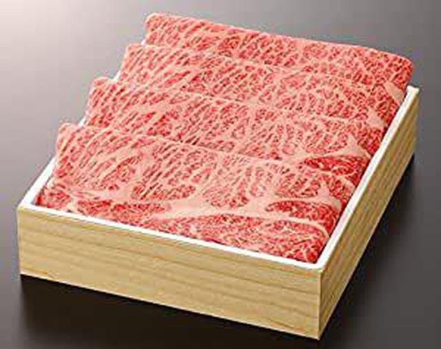 画像: 《三重県産》松阪牛(肩ロース) すき焼 贈答用箱詰め (1, 000g)