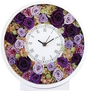 画像: プリザーブドフラワー 花時計