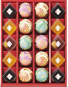画像: ひととえ 菓と果 (てまり) 和菓子 お菓子