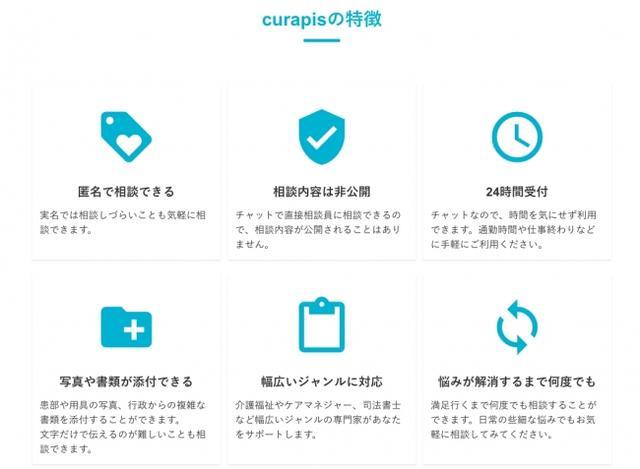 画像: オンライン相談サービス詳細